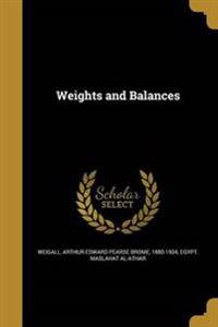 WEIGHTS & BALANCES