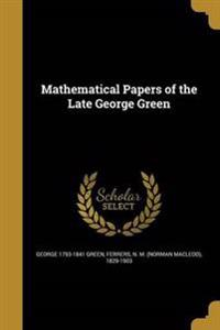 MATHEMATICAL PAPERS OF THE LAT