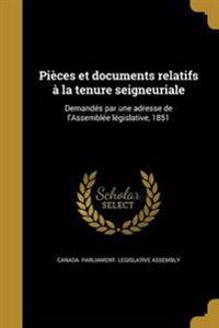FRE-PIECES ET DOCUMENTS RELATI