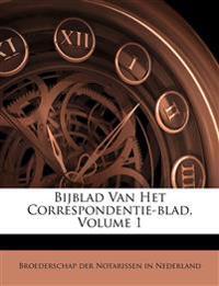 Bijblad Van Het Correspondentie-blad, Volume 1