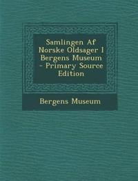 Samlingen AF Norske Oldsager I Bergens Museum