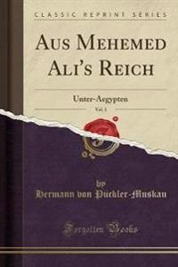 Aus Mehemed Ali's Reich, Vol. 1