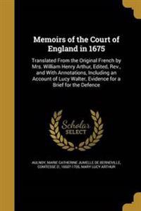 MEMOIRS OF THE COURT OF ENGLAN