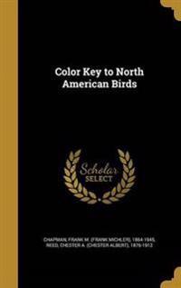COLOR KEY TO NORTH AMER BIRDS