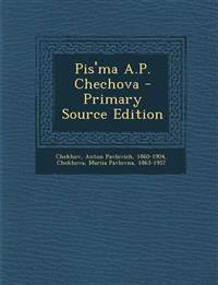 Pis'ma A.P. Chechova