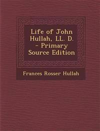 Life of John Hullah, LL. D.