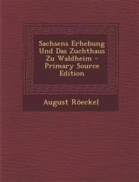 Sachsens Erhebung Und Das Zuchthaus Zu Waldheim - Primary Source Edition