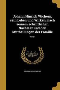 GER-JOHANN HINRICH WICHERN SEI