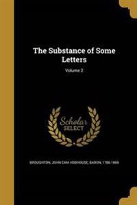 SUBSTANCE OF SOME LETTERS V02