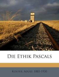 Die Ethik Pascals