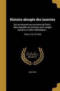 FRE-HISTOIRE ABREGEE DES INSEC