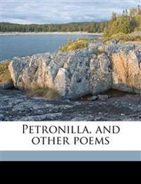 Petronilla, and other poems