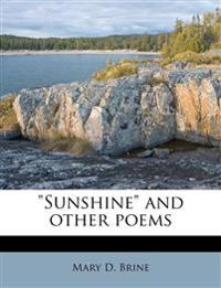 """Sunshine"" and other poems"
