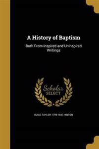 HIST OF BAPTISM