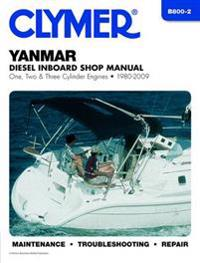 Clymer Yanmar Diesel Inboard Shop Manual One, Two & Three Cylinder Engines 1980-2009