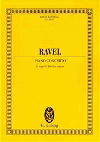 Maurice Ravel: Piano Concerto G Major/G-Dur/Sol Majeur