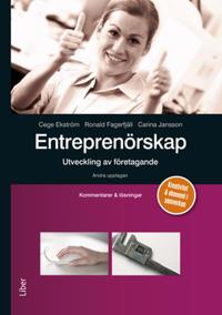Entreprenörskap - utveckling av företagande  Kommentarer och lösningar