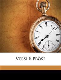 Versi E Prose