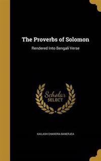 PROVERBS OF SOLOMON