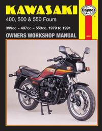 Kawasaki 400, 500, and 550 Fours Owners' Workshop Manual, No. M910