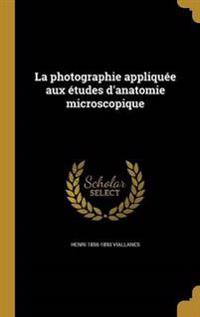 FRE-PHOTOGRAPHIE APPLIQUEE AUX