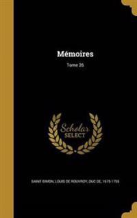 FRE-MEMOIRES TOME 26