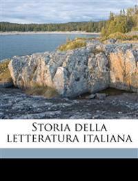 Storia della letteratura italiana Volume 6, pt.1