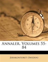 Annaler, Volumes 55-84