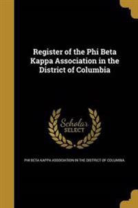 REGISTER OF THE PHI BETA KAPPA