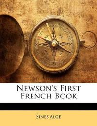 Newson's First French Book