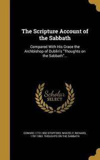 SCRIPTURE ACCOUNT OF THE SABBA