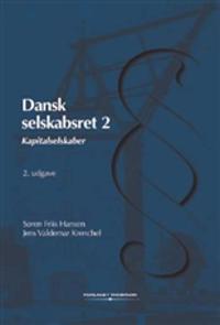 Dansk selskabsret-Kapitalselskaber