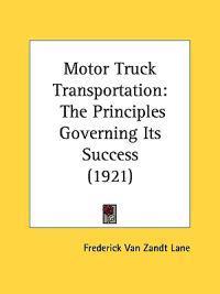 Motor Truck Transportation