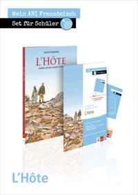 L'Hôte. Schülerbuch mit Bande Dessinée