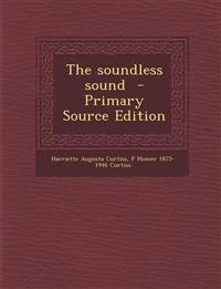 The soundless sound