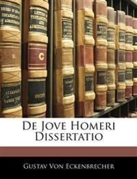 De Jove Homeri Dissertatio