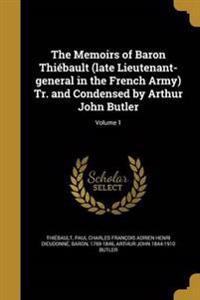 MEMOIRS OF BARON THIEBAULT (LA