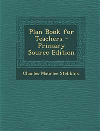 Plan Book for Teachers