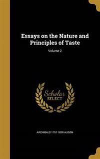 ESSAYS ON THE NATURE & PRINCIP