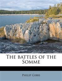 The battles of the Somme