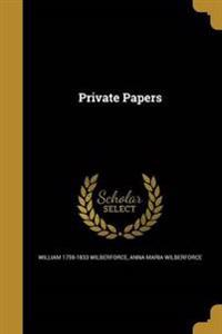 PRIVATE PAPERS