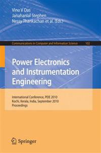 Power Electronics and Instrumentation Engineering