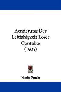 Aenderung Der Leitfahigkeit Loser Contakte