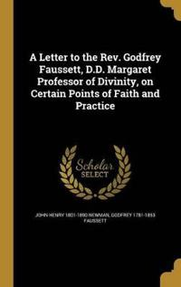 LETTER TO THE REV GODFREY FAUS