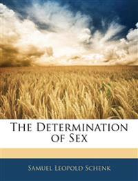The Determination of Sex