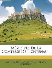 Mémoires De La Comtesse De Lichtenau...