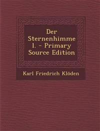 Der Sternenhimmel. - Primary Source Edition