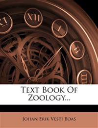 Text Book Of Zoology...