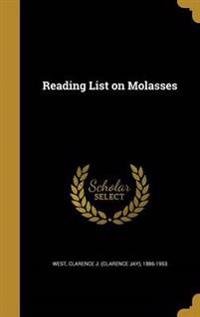 READING LIST ON MOLASSES