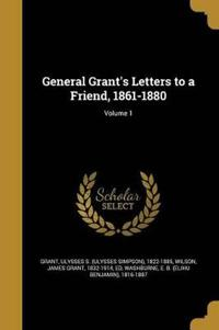 GENERAL GRANTS LETTERS TO A FR